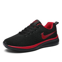 Men's Running Shoes Fashion Sports Sneakers Flyknit Casual Breathable Athletic