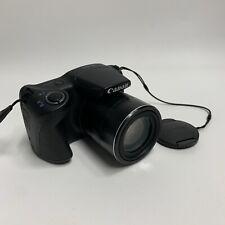 Canon PowerShot SX410 IS 20.0MP Digital Camera - Black Great Condition