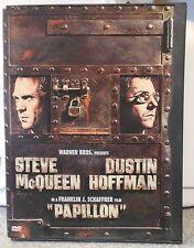 Papillon (DVD 1999) RARE 1973 STEVE McQUEEN DUSTIN HOFFMAN CRIME DRAMA MINT DISC