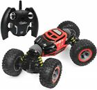 Remote Control 4WD RC Double Sided Stunt Rock Crawler (Colors May Vary)