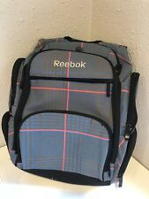Reebok Backpack Multi Color With Padded Laptop Storage