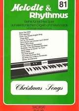 Christmas Songs für Keyboard Melodie & Rhythmus englische Weihnachtslieder