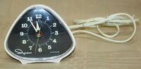 Vintage Ingraham Inc Alarm Clock 34-288 Mid Century Working Alarm Clock Luminous