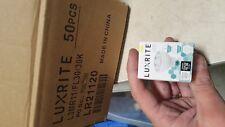 BOX OF 50 NEW Luxrite GU4 LED MR11 Bulb, 3W 20W Equivalent, 3000K Soft White,