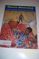 1967 Sports Illustrated UCLA Bruins LEW ALCINDOR NCAA National Champions FREE/SH