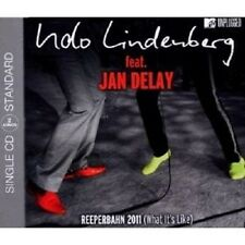 "Udo Lindenberg feat. Jan Delay ""Reeperbahn 2011 (what it 's Like)"" CD SINGLE NUOVO"