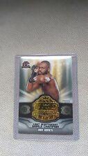 2014 Topps UFC Champions Commemorative Belt Plate relic card Jon Jones
