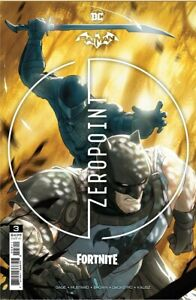 Batman Fortnite Zero point  3 Cover A Sealed 1st Print catwoman griping claw