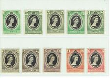 1953 QEII Coronation Omnibus Stamps of 10 Country