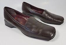 Hogl brown leather flat shoes uk 4.5 Eu 37.5 super condition