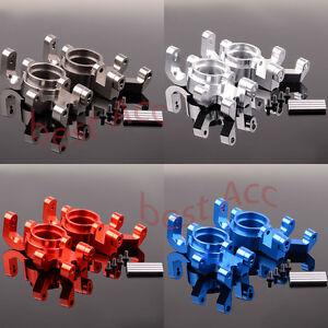 7737 For 1/5 RC CAR 2pcs Steering blocks Aluminum Traxxas X-Maxx 77076-4 77086-4