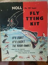 vintage Noll fly tying kit