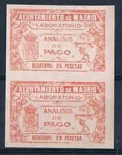 MADRID. NO CATALOGADO. 20 PTAS NARANJA