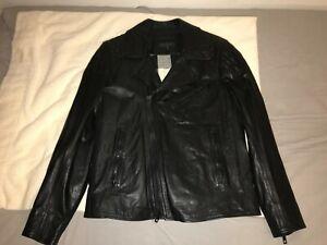 Rag and Bone Leather Biker Jacket Medium