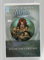 Aria #1 - Image Comics - Avalon Studios - Certificate of Authenticity - NEW!