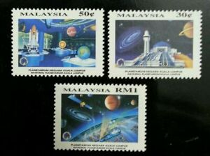 [SJ] Malaysia National Planetarium 1994 Space Planet Earth Solar (stamp) MNH