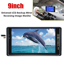 9inch LCD Reversing Image Player Rear View Mirror Display Parking Backup Monitor
