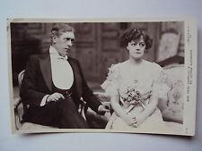 Edwardian Theatre Irene Vanburgh George Alexander Beagles pc 30 W vintage card