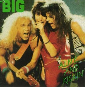 Mr.BIG - ALIVE & KICKIN' (LIVE USA 1992) - CD - SOUNDBOARD !!!