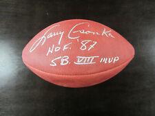 Larry Csonka Autograph Official NFL Football ( Paul Tagliabue ) SB MVP HOF 87