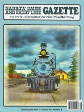 Narrow Gauge and Short Line GAZETTE: July / August 2020 - (BRAND NEW issue)