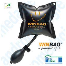 WINBAG Pump It Up Cuscino Gonfiabile Livella per porte finestre controtelai