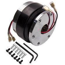 Universal Steering Wheel 6 Bolt Hub Adapter Short Quick Release Kit Black New