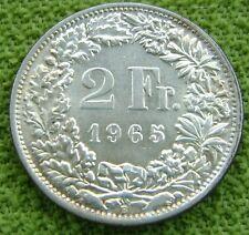 1965 Zwitserland - Switzerland - 2 francs 1965 - KM# 21 - nice