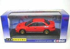 Subaru Impreza Turbo (UK tipo D) rojo brillante 1:43
