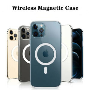 Magnetic Shockproof Clear Case Cover For Apple iPhone 13 12 Pro Max Mini XR X 11
