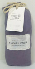 Restoration Hardware Stonewashed Belgian Linen Euro Pillow Sham Orchid NEW $109