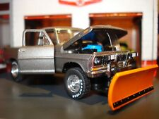 1970 70 FORD F-100 LONG BED PICKUP LIMITED EDITION 1/64 M2 CUSTOM PLOW TRUCK