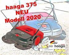 Kehrmaschine haaga 375 Turbo-Kehrsystem Handkehrmaschine Kehrbesen Tellerbesen