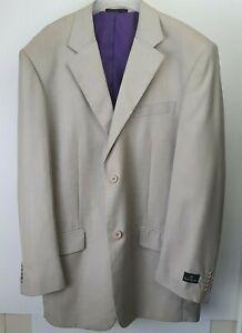 Paul Smith Wool Beige Sports Jacket Sz 56