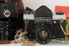 KIEV-6C Camera VEGA-12B 2.8/90 2,8 Lens TTL Prism Waist Case Macro Ring FULL SET