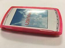 Sony Ericsson Vivaz U5a, U5i Kurara TPU Jelly Case Cover in Pink JCSEVIVAZBP-A