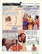 Bible Stories in Pictures #8 Part 2    May 4 1952     Money in the Mouth of a Fi