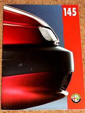 1995-96 ALFA ROMEO 145 Sales Brochure