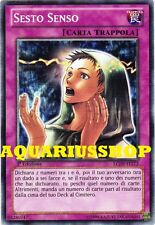 Yu-Gi-Oh! Sesto Senso LCJW-IT273 Rarissimo in ITA  Sixth Sense Nuovo introvabile