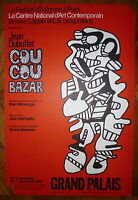 Jean Dubuffet Affiche Lithographie 73 Art Abstrait Art Brut New York abstraction