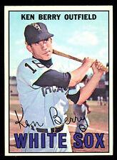 1967 TOPPS OPC O PEE CHEE BASEBALL #67 KEN BERRY EX-NM CHICAGO WHITE SOX CARD