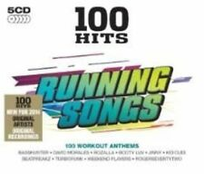 100 Hits Running Songs 5 CD Set of Workout Anthems All Originals