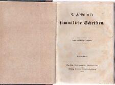C. F. Gellert's Sämmtliche Schriften Neue rechtmäßige Ausgabe.1856 vol 3-4 L5477