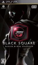 PSP DJ Max Portable: Black Square PlayStation Portable Japan F/S