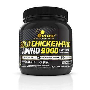 OLIMP Gold Chicken-Pro Amino 9000 Mega Tabs 300 Tabs AMINO ACIDS BCAA PROTEIN