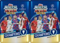 (2) 2019-20 Topps UEFA Champions League Soccer Match Attax EXTRA NIB MIDI TINS