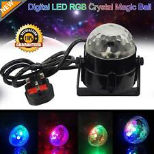 Mini LED Disco Ball Stage Lighting DJ Ball Crystal Magic Light Home Night Party