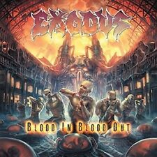 Blood In, Blood Out [LP] by Exodus (Vinyl, Oct-2014, 2 Discs, Nuclear Blast)