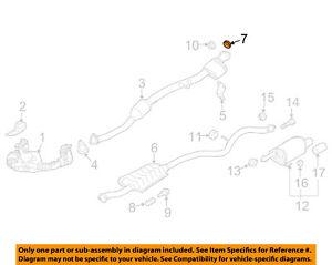 SUBARU OEM 04-16 Forester 2.5L-H4 Exhaust-Intermed Pipe Gasket 44022AA123