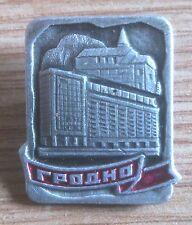 PIN BADGE, METAL & ENAMEL: BELARUS, CITY, HRODNA